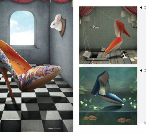 Pomysł i dobór butów I. Jabłonowska, zdjęcia i montaż CIRUTdesign