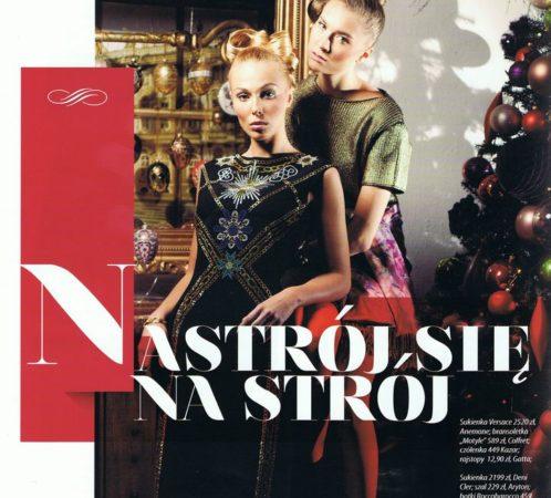 Fashion Time,stylizacja I.Jabłonowska, zdjęcia Ł.Pepol, makijaż D. Mańkowska, modelki Kasia i Ewelina
