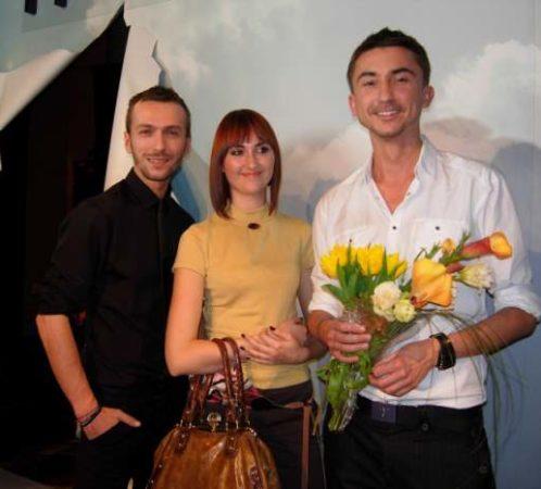 Pokaz mody Paprocki & Brzozowski. I. Jabłonowska jako redaktor działu mody portalu internetowego.