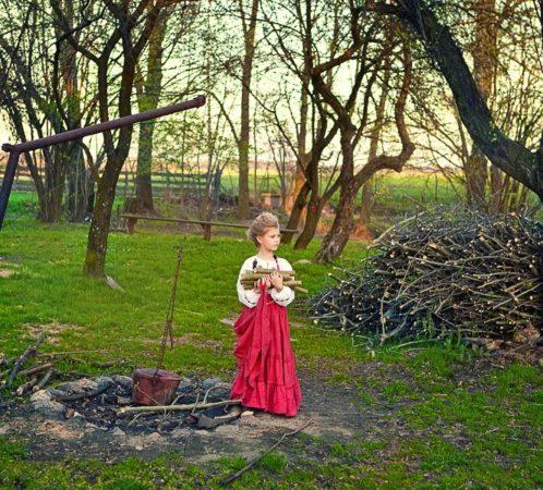 Produkcja i stylizacja I. Jabłonowska, zdjęcia I. Bałdyga, modelka Róża