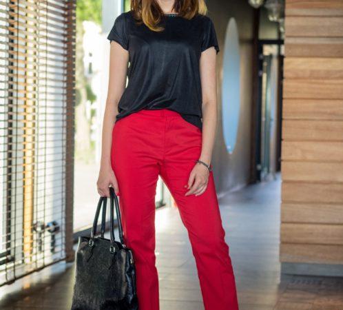 Izabela Jabłonowska, właścicielka firmy Stylowa Moda, stylistka, pisarka. Zdjęcie: Studio Zaniewska.