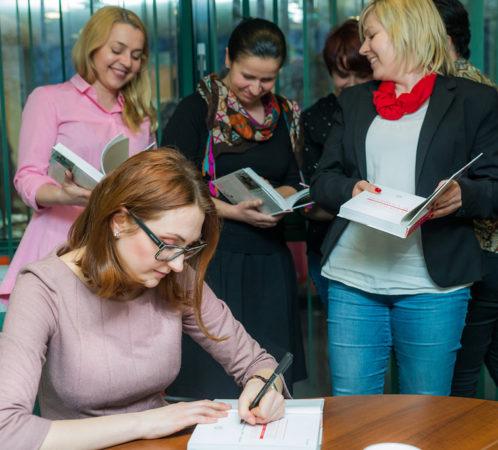 Warsztaty stylu prowadzone przez I. Jabłonowską.