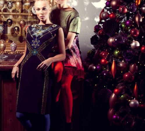 Stylizacja I.Jabłonowska, zdjęcia Ł.Pepol, makijaż D. Mańkowska, modelki Kasia i Ewelina; Fashion Time