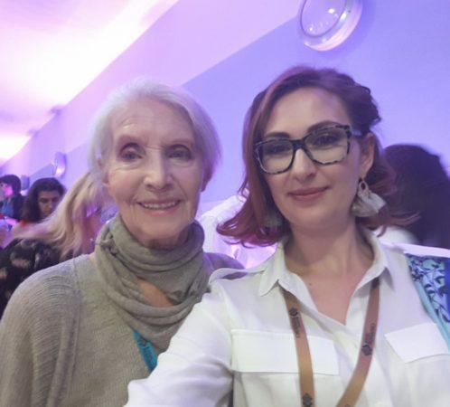 I. Jabłonowska i Helena Norowicz (aktorka i modelka).