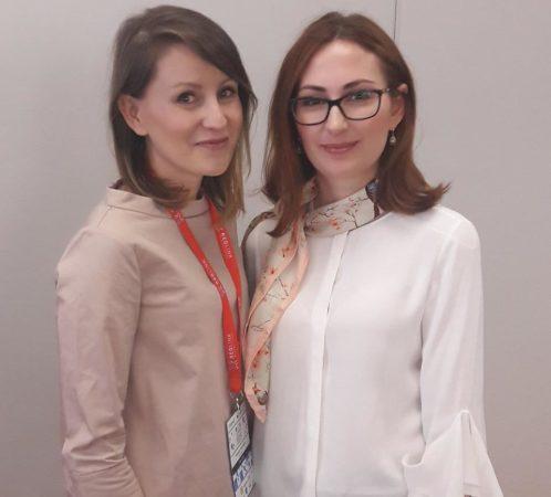 Izabela Jabłonowska i Katarzyna Kędzierska (autorka bloga Simplicite i książki), Blog Conference Poznań.
