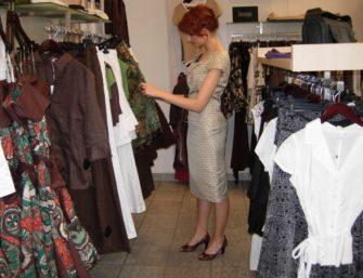 Osobista stylistka na zakupach