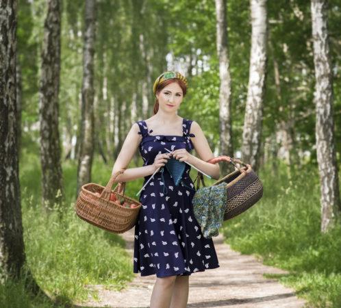 Ogólnopolska Kampania Zielona Strona Szafy, inicjatorka i ambasadorka kampanii - Izabela Jabłonowska, zdjęcia Renata Orlińska, makijaż Dorota Mańkowska