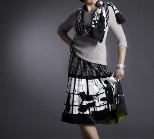 Stylizacja - I. Jabłonowska, zdjęcia - K. Krajewski, modelka - Joanna.