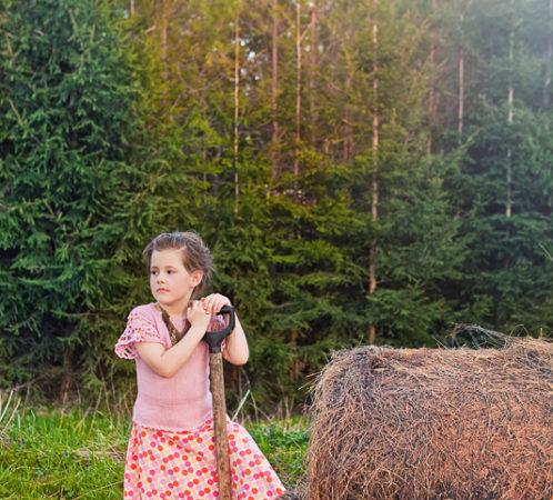 Produkcja i stylizacja I. Jabłonowska, zdjęcia I. Bałdyga, modelka Magda