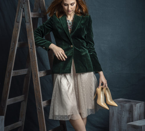 Modelka i stylistka - Izabela Jabłonowska, zdjęcia - Studio Zaniewska.